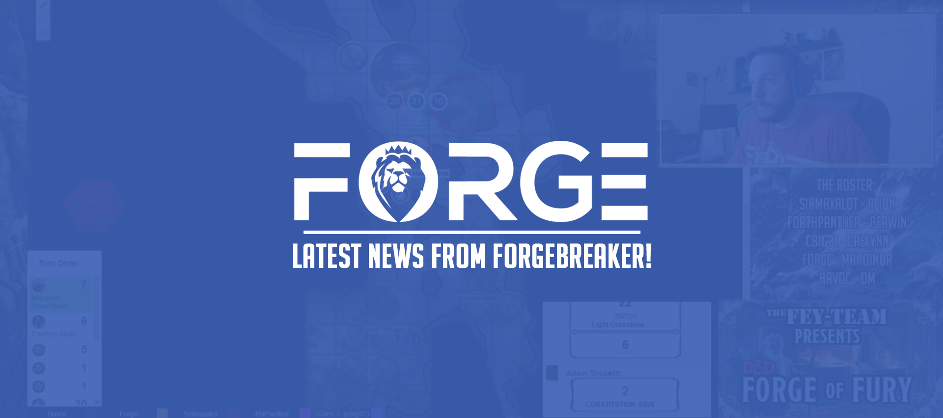 Latest News on Forgebreaker!